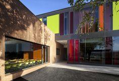 Escuela del Liceo Francés Saint Exupéry by Flint Archicture (Madrid, España) #architecture