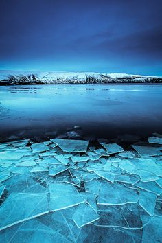 Broken Glass (Iceland) by Nicolas Orillard-Demaire via 500px