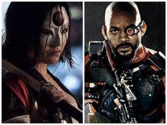 Nero, rosso e bianco, i colori di Katana e Deadshot in Suicide Squad, due…