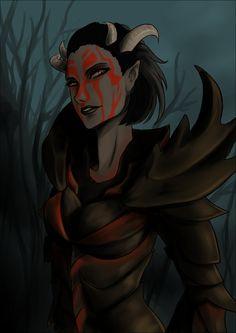 Dremora by Saorlaith.deviantart.com on @deviantART