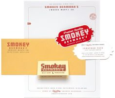 Love those business cards!