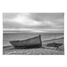 Deal Kent UK Fishing boat film noir effect Placemat - kitchen gifts diy ideas decor special unique individual customized