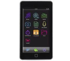 Der M30THD ist nicht nur ein Audioplayer, sondern gibt auch Video und Fotos wieder und verfügt über einen Flashspeicher von 8 GB. Ein SD-Kartenslot bietet einen zusätzlichen Speicherplatz von bis zu 8 GB.