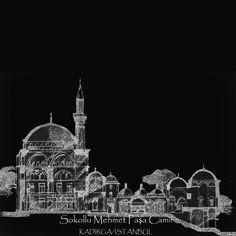 sinan in en etkilendigim yapialrindan biridir sokullu camisi.. sokullu * tarihte de , sahsiyet olarak en etkileyici kisilerdendir benim icin .. yapiya gore iri sayilabilecek bir merkezi kubbe , kendisine eslik eden ve benim ilk kez burada karilastigim capraz 4 yarim kubbe ile, Istanbul un kadirga sinda yukselir cami .. Empire State Building, Istanbul, Taj Mahal, Architecture, Drawings, Arquitetura, Sketches, Drawing, Architecture Design