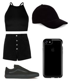 """"""""""" by sinai05 on Polyvore featuring Boohoo, rag & bone/JEAN, Vans, Le Amonie and Speck"""