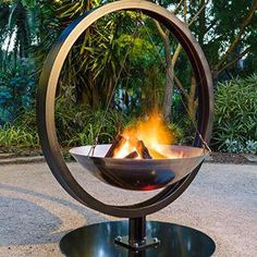 Hanging fire pit designed and built by The Melbourne Fire brick Company.Hanging fire pit designed and built by The Melbourne Fire brick Company. outdoorfirepitdesignsHanging fire pit designed and built by The Melbourne Fire Fire Pit Grate, Metal Fire Pit, Diy Fire Pit, Fire Pits, Garden Fire Pit, Fire Pit Backyard, Melbourne, Brick Companies, Backyard Seating