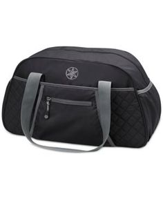 1e955a7f9532 Get the ultimate in quick-grab convenience with this Gaiam duffel bag