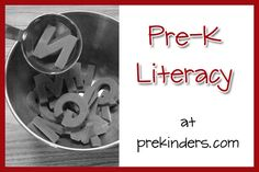 PreKinders website. Tons of resources, printables, etc. to use with Pre-K and Kindergarten aged kids.