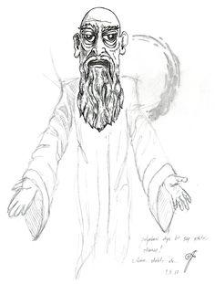 Gulyabani! . . #gulyabani #sutkardesler #kemalsunal #sketch #drawing #crosshatch #blackandwhite #tattooidea #pen #pencil #goblin #yesilcam #engraving