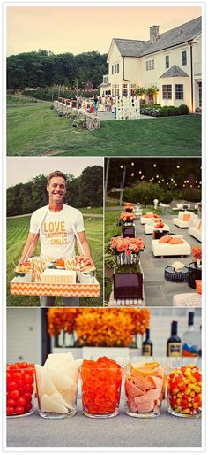 candy bar & outdoor party