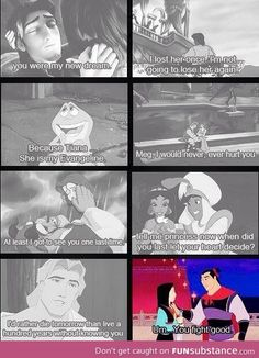 Disney love quotes... So romant... wait, what??