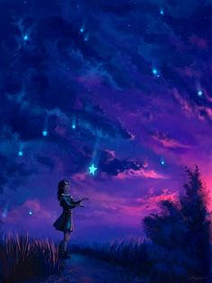 ~ catch a falling star and put it in your pocket, never let it fade away ~