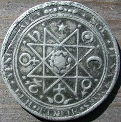 A Rosicrucianalchemical medal ~17th century