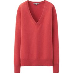 WOMEN CASHMERE V NECK SWEATER | UNIQLO