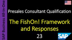 SAP - Course Free Online: 23 - The FishOn! Framework and Responses