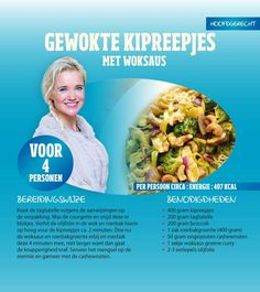 Gewokte kipreepjes Sonja Bakker Ciabatta, Lidl, Penne, Mango Salat, Snacks, Light Recipes, Quick Easy Meals, Meal Prep, Healthy Lifestyle
