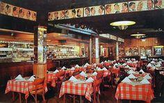 The London Chop House, 155 West Congress, Detroit, Michigan, undated. Detroit Rock City, Detroit Area, Detroit Michigan, Thanks For The Memories, Great Memories, Detroit History, Time Warp, Ballrooms, London Restaurants