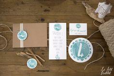 [WEDDING] Watercolor Wedding Suite Summer Sea_partecipazione matrimonio designed by Le Petit Rabbit