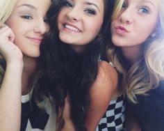 Chlo, Brooke and Paige