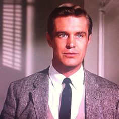 """How do I look?""  ""Very good. I must say I'm amazed."" by benspear, via Flickr / George Peppard in Breakfast at Tiffany's"