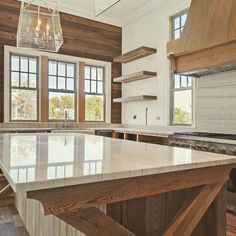 Another great view of the kitchen. #70seagrovevillage #interiordesign #30a #kitchen