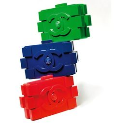 Lego Bags - Chanel -- most expensive building blocks on the planet!