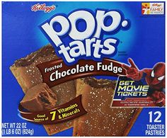 Kellogg's Pop-Tarts Frosted Chocolate Fudge, 12 ct, 22 oz - http://sleepychef.com/kelloggs-pop-tarts-frosted-chocolate-fudge-12-ct-22-oz/
