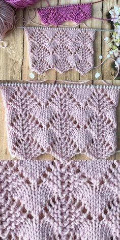 Modelo de tejido de chales y chalecos de Roads to Hearts - Anlatımlı Örgüler Baby Knitting Patterns, Knitting Stiches, Knitting Blogs, Knitting Kits, Easy Knitting, Crochet Patterns, Cross Stitch Pattern Maker, Cross Stitch Patterns, Drops Design