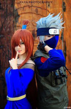 dat hair. (Naruto - Fifth Mizukage and Sixth Hokage)