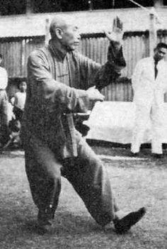 ang style sword tai chi : Tung Ying Chieh, 1954 Macao