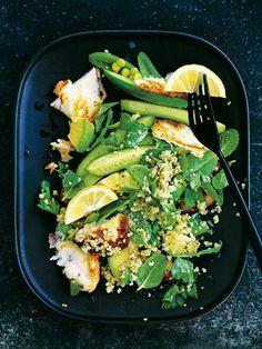 Quinoa And Haloumi Spring Salad | Donna Hay