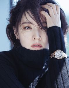 Lee Young Ae J Look Magazine October Issue Look Magazine, Fashion Magazine Cover, Magazine Covers, Korean Beauty, Asian Beauty, Lee Young, Korean Actresses, Star Wars, Kpop