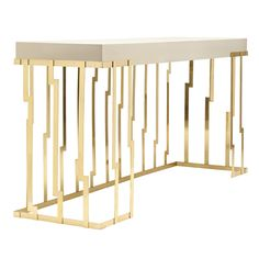 RECTANGULAR CONSOLE TABLE CLIFF EARTH TO EARTH COLLECTION BY GINGER & JAGGER