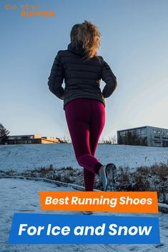 If you are going to run this winter, you'll want the best running shoes for ice and snow. These shoes are warm, waterproof, and have great traction. Winter Running Shoes, Best Running Shoes, Running Gear, Running Women, Fitness Tracker, Fitness Tips, Workout Gear, Fun Workouts, Running Routine