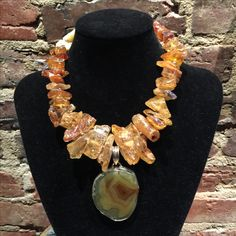 "StoneLoveArtJewelry Private Collection ""Amber"""