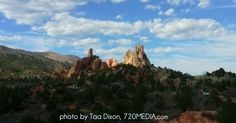 Garden of the Gods in Colorado Springs photo by Taa Dixon. Join me on Twitter and Facebook: http://www.twitter.com/SpringsTourism, http://www.twitter.com/SpringsBusiness, https://www.facebook.com/SpringsTourism, http://www.twitter.com/720MEDIA and visit my web design and social media marketing firm http://www.720MEDIA.com,  http://www.facebook.com/720MEDIA
