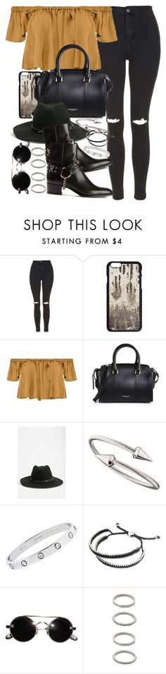 """""""Sin título #3570"""" by hellomissapple on Polyvore featuring moda, Topshop, Boohoo, Burberry, Urban Outfitters, Yves Saint Laurent, Jules Smith, Cartier, Links of London y Forever 21"""