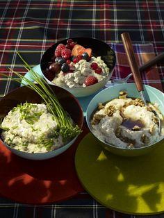 Schottische Porridge-Kreationen