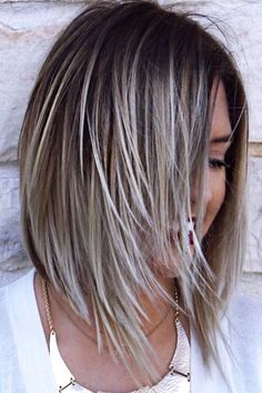 30 Edgy Bob Haircuts To Inspire Your Next Cut – - Schulterlange Haare Ideen Hair Color And Cut, Haircut And Color, Edgy Bob Haircuts, Edgy Hairstyles, Hairstyles 2016, Hairdos, Medium Hair Styles, Short Hair Styles, Grey Hair Styles