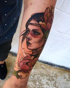 53 Best Ideas womens face tattoo old school
