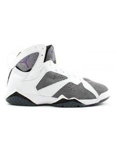 a236060b712ba Air Jordan 7 Retro White Varsity Purple Flint Grey 304775 151