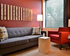 Merveilleux Modern Office Design Of Intraspectrum Counseling Office: Modern Minimalits  Living Room Grey Sofa Intraspectrum Counseling