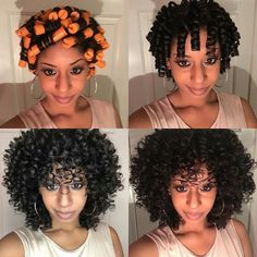 When you pick your hair to look like day 3 or 4 hair  #PermRods #MyFavorite #NaturalHair