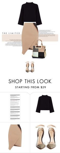 """""""Natalie"""" by anja-173 ❤ liked on Polyvore featuring Arche, Jaeger, Oasis, Gianvito Rossi, River Island, women's clothing, women, female, woman and misses"""