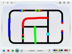 The Ozobot app offers a variety of fun exercises, coding activities and games to explore with your Ozobot smart robot