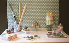 I love this idea!  Gift Wrap Party!!