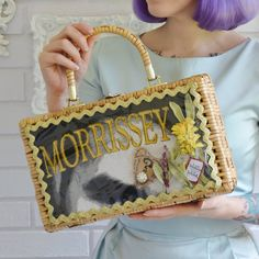 The Morrissey of You Handbag, Vintage and Upcycled