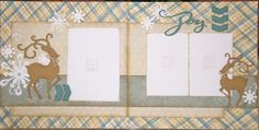 Aspen Paper #CTMH #scrapbook layout