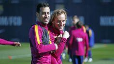 FC Barcelona training session: Barça back to work ahead of Getafe clash