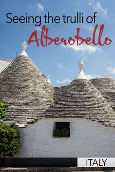 The town of Alberobello in Puglia, Italy, is an incredible place to visit. Alberebello is full of small strange houses called trulli that you can walk amongst and visit. Here's what you need to know to visit Alberobello and see the trulli. World Travel Guide, Europe Travel Guide, Travel Guides, Cool Places To Visit, Places To Travel, Travel Destinations, European Destination, European Travel, Malta